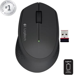 Mouse Sem Fio Logitech Wireless Usb Prt M280 1 Und