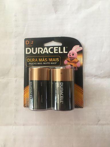 Pilha Duracell D