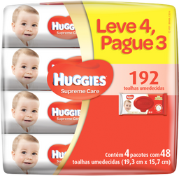 Huggies Lencos Umedecidos Super Care