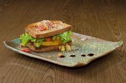 Sanduíche de Grão de Bico