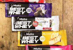 Barra de proteína whey bar chocolate 40g