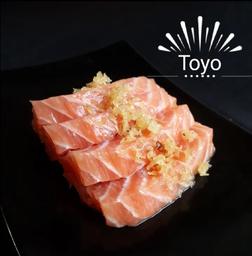 Sashimi Salmão Crispy Batata Doce