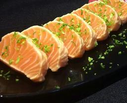 Sashimi Salmão Selado 6 Unidades