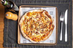 Pizza de Linguiça Artesanal