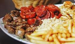 Carne Boi Acebolada na Chapa