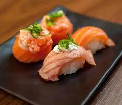 Sushi de Salmão - Nigiri