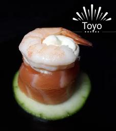 Sushi Jo Salmão Camarão