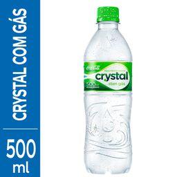 Água Crystal Mineral com Gás - 500ml