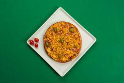 Pizza Pequena (4 pedaços) e Bebida