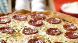 Pizza 2 Sabores Tradicional - 8 Pedaços