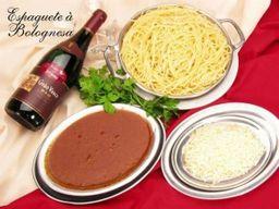 Espaguete à bolognesa