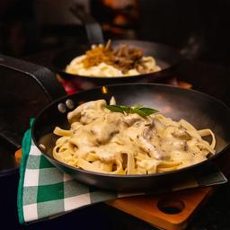Taglateli de Filet com Gorgonzola