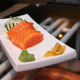 Sashimi de Salmão - 5 Peças