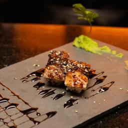 2x1 Sushi de Pele Grelhada - 5 Peças