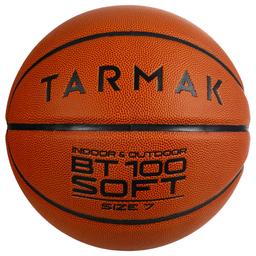 Bola De Basquete Bt100 Soft T7 Marrom 7