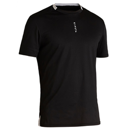 Camiseta De Futebol F100 Adulto Preta G