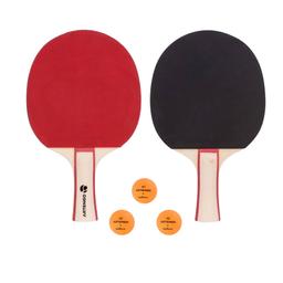 Kit Raquetes De Tênis De Mesa Artengo Fr130 Vermelha