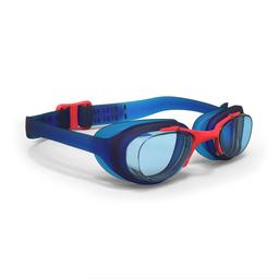 Óculos De Natação Xbase Print Pequeno Nabaiji Azul Vermelha