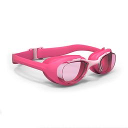 Óculos De Natação Xbase Print Tamanho Pequeno Nabaiji Rosa