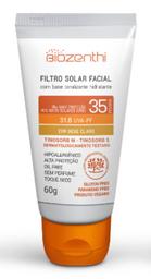 Filtro Solar Biozenthi Orgânico Bege Claro Fps35 60 g