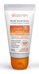 Filtro Solar Biozenthi Orgânico Bege Nude Fps35 60 g