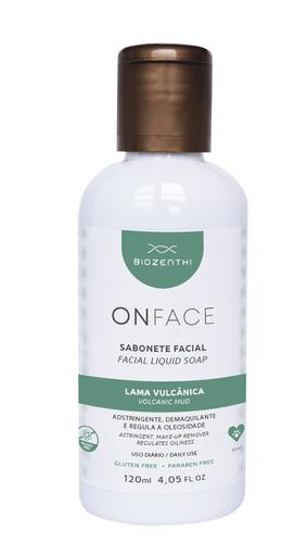 Sabonete Facial Biozenthi Lama Vulcanica 120 mL
