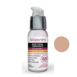 Base Facial Biozenthi Hidratante Bege Claro 30 mL
