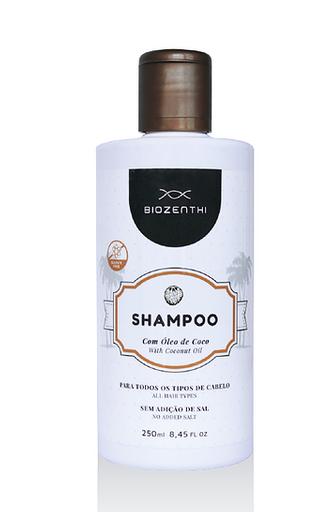 Shampoo Biozenthi Vegano Óleo De Coco 250 mL