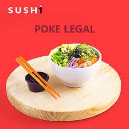 Poke Legal - Salmão - 500g