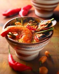 Thai Red Curry de Frutos do Mar
