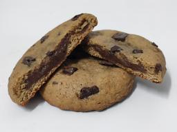 Cookie Caseiro de Brigadeiro