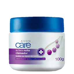Avon Care Aclara Creme Facial Clareador Noite