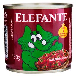 Elefante Extrato de Tomate Pizza Lata