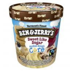 Sorvete Benjerrys Sweet Like Sugar Cookie Dough Core 458 mL