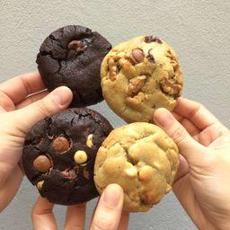 Caixa com 4 Cookies