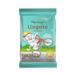 Tablete Lingato Bicicleta - 13g