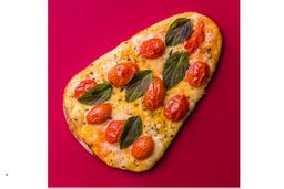 Pizza de Margarita Especial - Pedaço