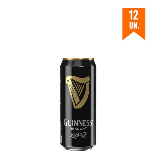 Cerveja Guinness Draught In Can 440 mL 12 Und
