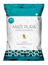 Pipoca Artesanal Caramelo E Coco Mais Pura 150 g