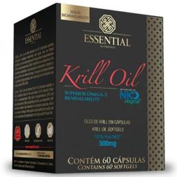 Krill Oil Essential Nutrition 60 Cápsulas