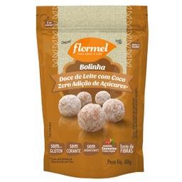 Bolinha Doce De Leite Com Coco Zero Flormel 60 g