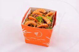 Yakisoba de camarão