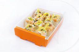 Baterá de salmão crispy | 10 unidades