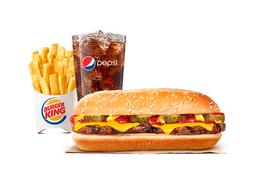 Combo Long Cheeseburger