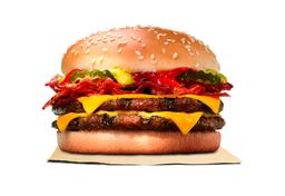 Cheeseburger Duplo com Bacon