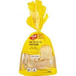 Pão de Forma Tradicional sem Glúten Schar - 200g