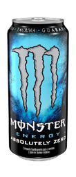 Energético Absolutely Zero Monster Lata 473 mL