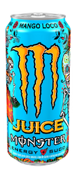 Energético Mango Loco Monster Lata 473 mL