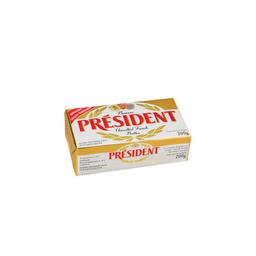 President Manteiga Président Sem Sal Tablete