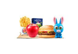 Combo King Jr com Cheeseburger
